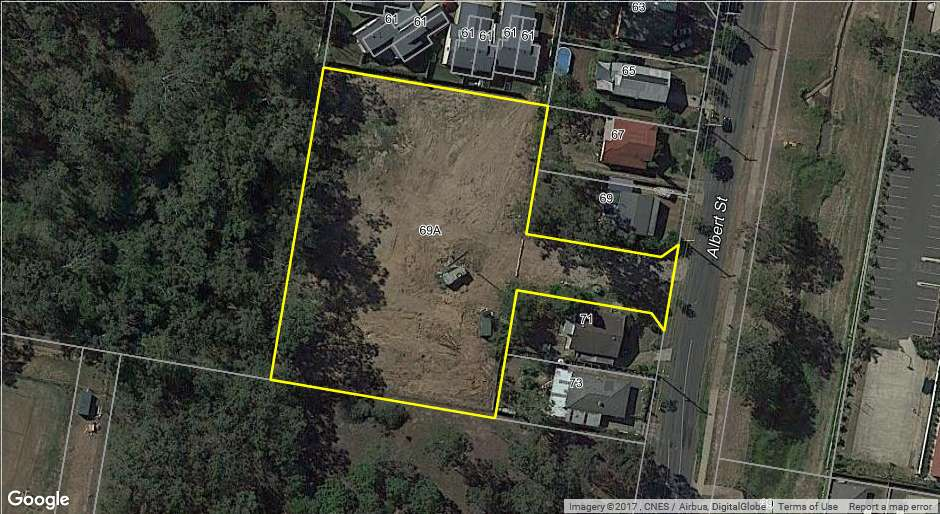Main view of Homely townhouse listing, 69A Albert Street, Goodna, QLD 4300