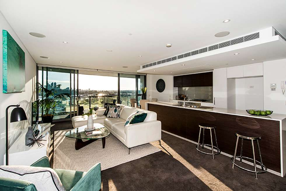 Second view of Homely apartment listing, 901/21 BOW RIVER, Burswood WA 6100
