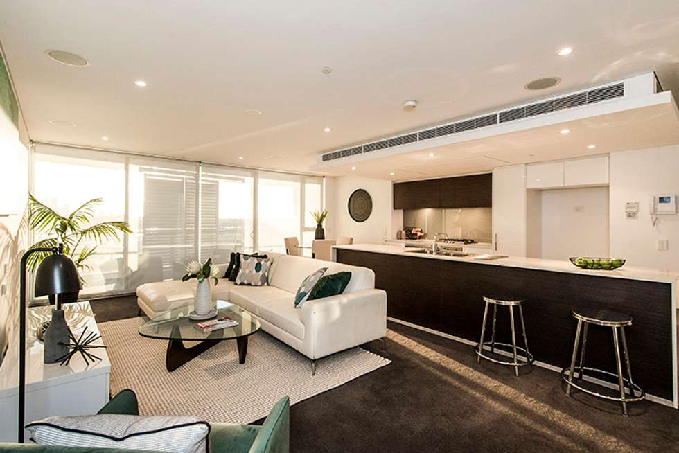 Fifth view of Homely apartment listing, 901/21 BOW RIVER, Burswood WA 6100