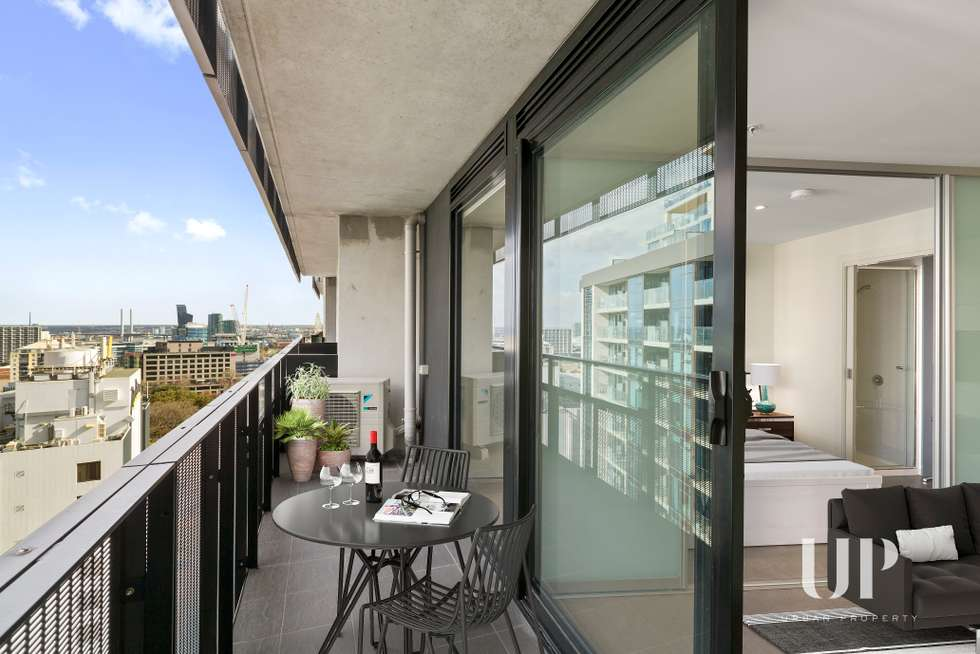 Second view of Homely apartment listing, 1005/243 Franklin Street, Melbourne VIC 3000