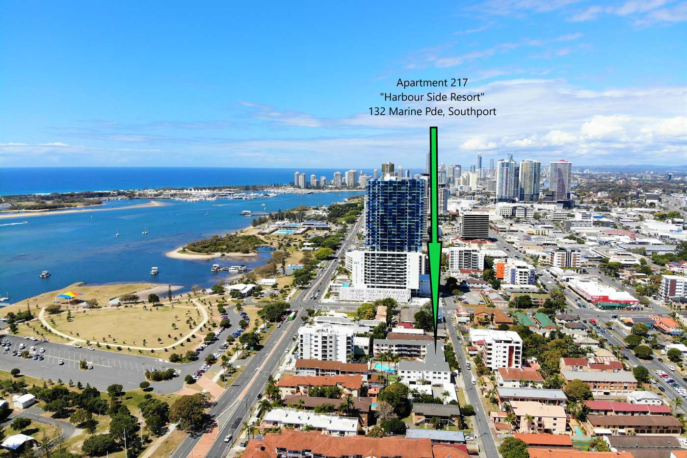 Main view of Homely apartment listing, 217/132 Marine Parade, Southport QLD 4215