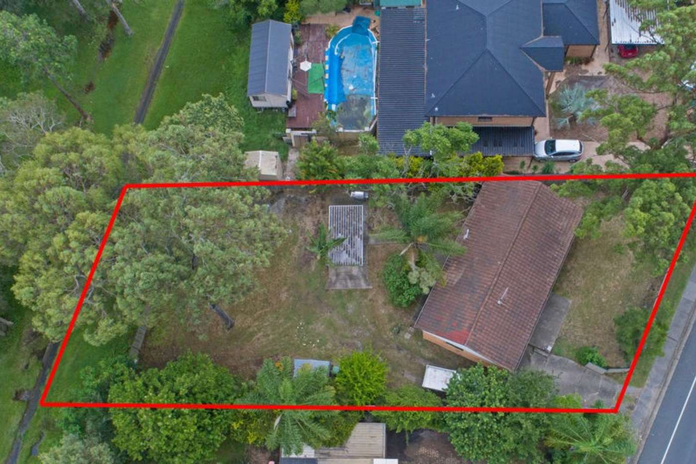 Main view of Homely residentialLand listing, 187 Bryants Road, Loganholme QLD 4129