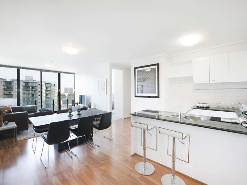 Main view of Homely apartment listing, 905/38 Bank Street, South Melbourne, VIC 3205