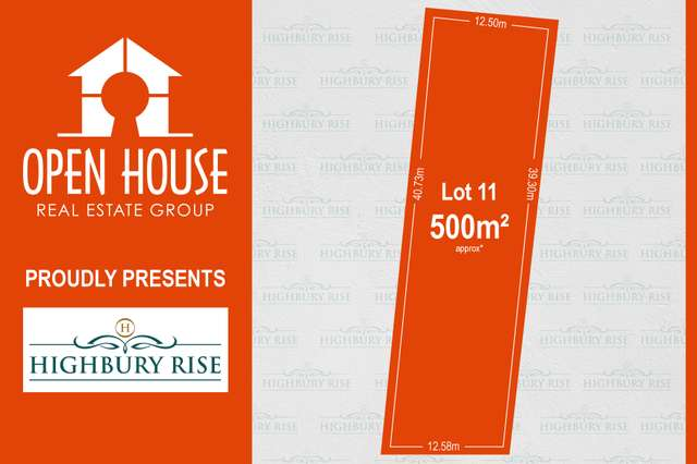 Lot 11, 1113 Lower North East Road, Highbury SA 5089