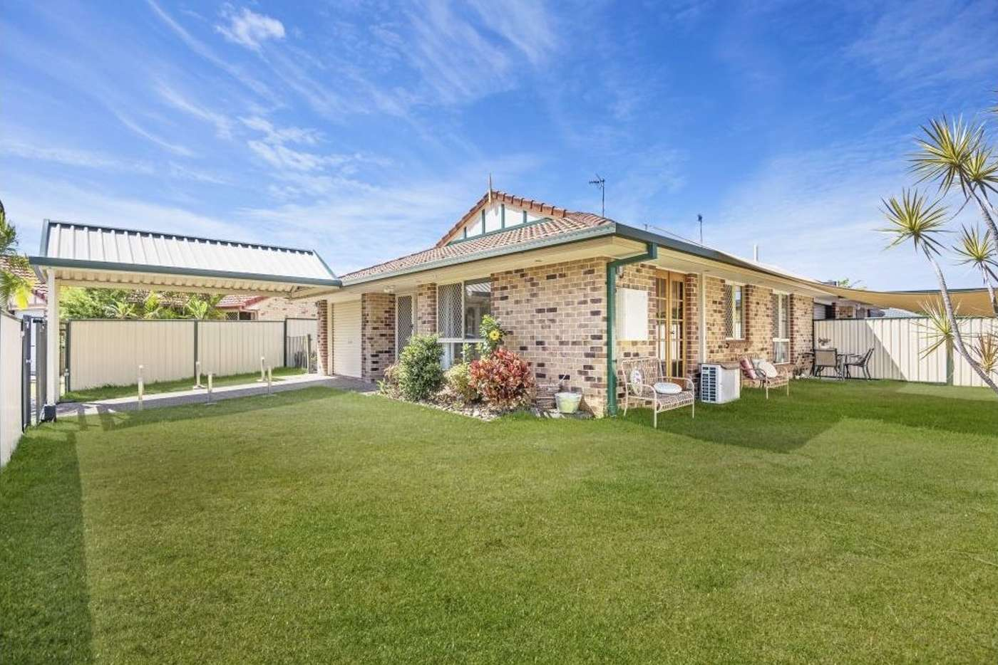 Main view of Homely semiDetached listing, 1/1 Cowal Court, Elanora QLD 4221