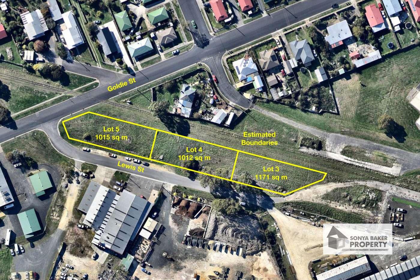 Main view of Homely residentialLand listing, Corner of Goldie Street & Lewis Street, Wynyard TAS 7325