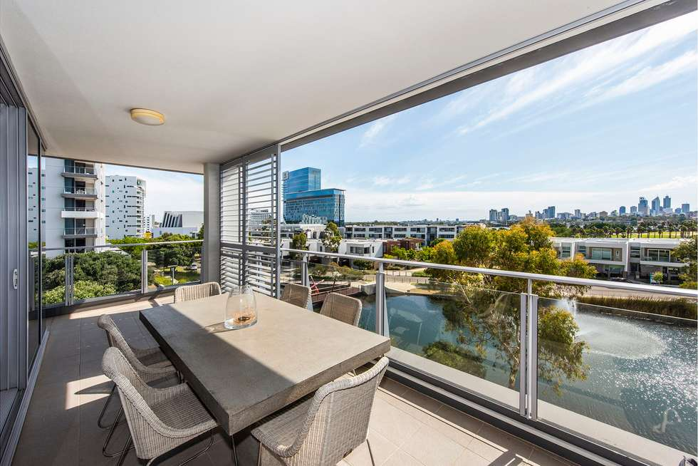 Third view of Homely apartment listing, 407/30 The Circus, Burswood WA 6100
