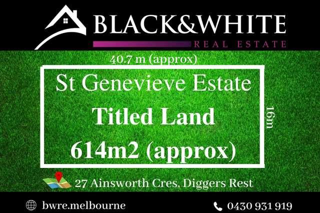 27 Ainsworth Crescent, Diggers Rest VIC 3427