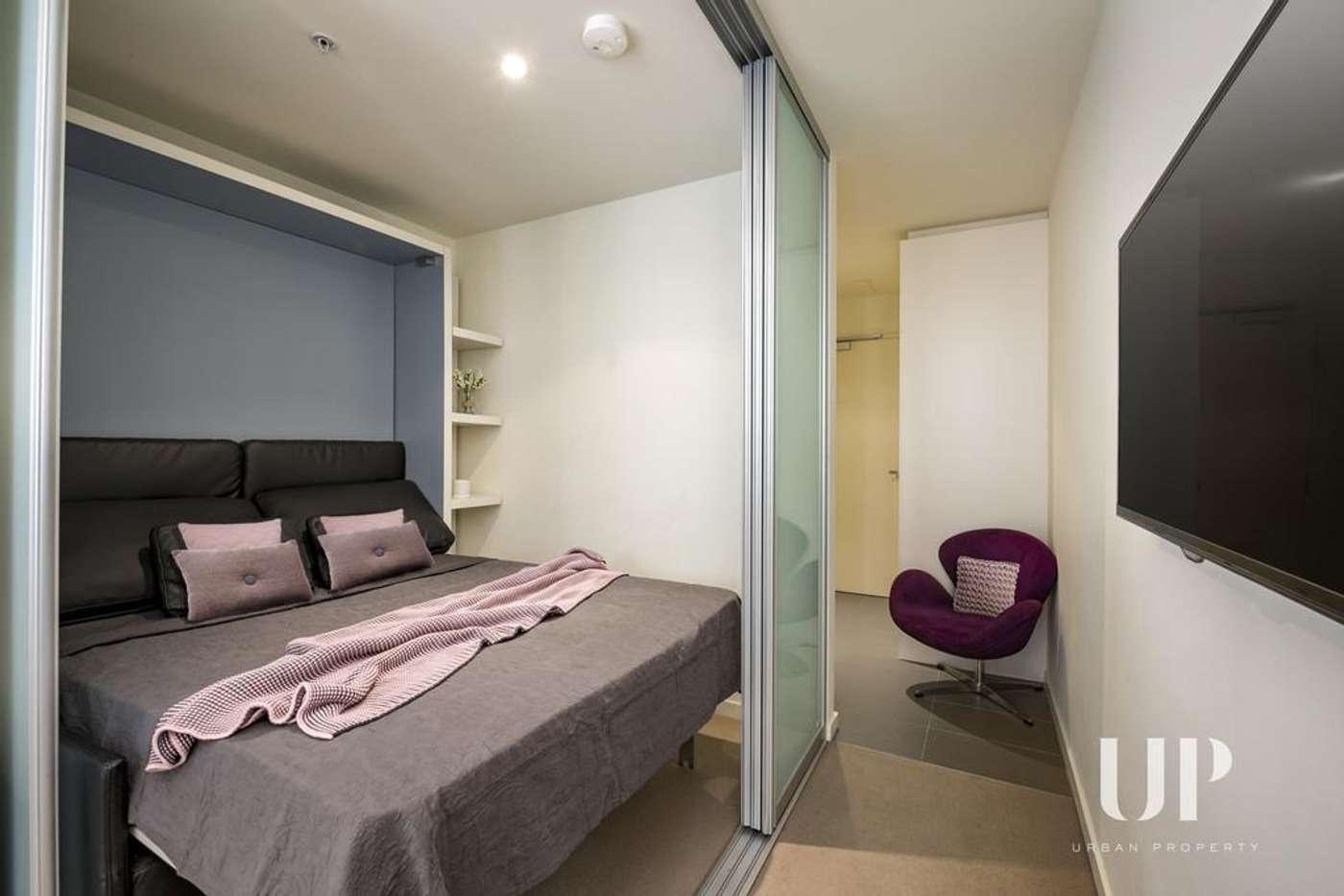 Main view of Homely apartment listing, 702/243 Franklin Street, Melbourne VIC 3000