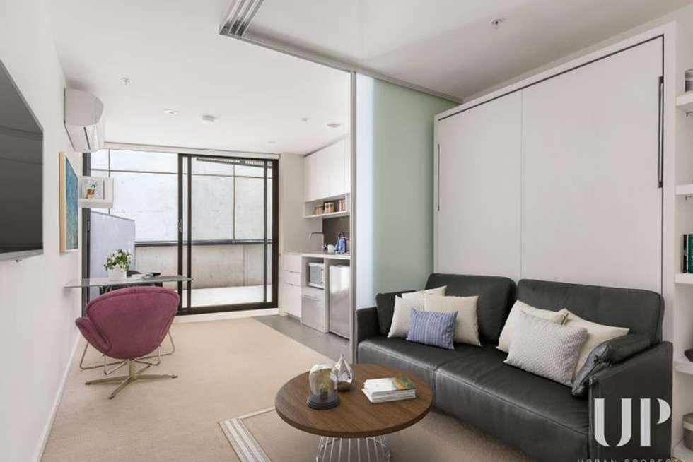 Third view of Homely apartment listing, 702/243 Franklin Street, Melbourne VIC 3000
