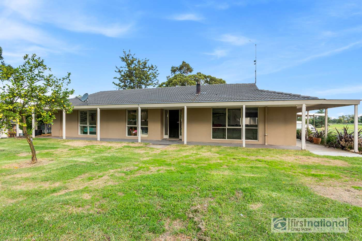 Main view of Homely acreageSemiRural listing, 350 Baxter Tooradin Road, Baxter VIC 3911