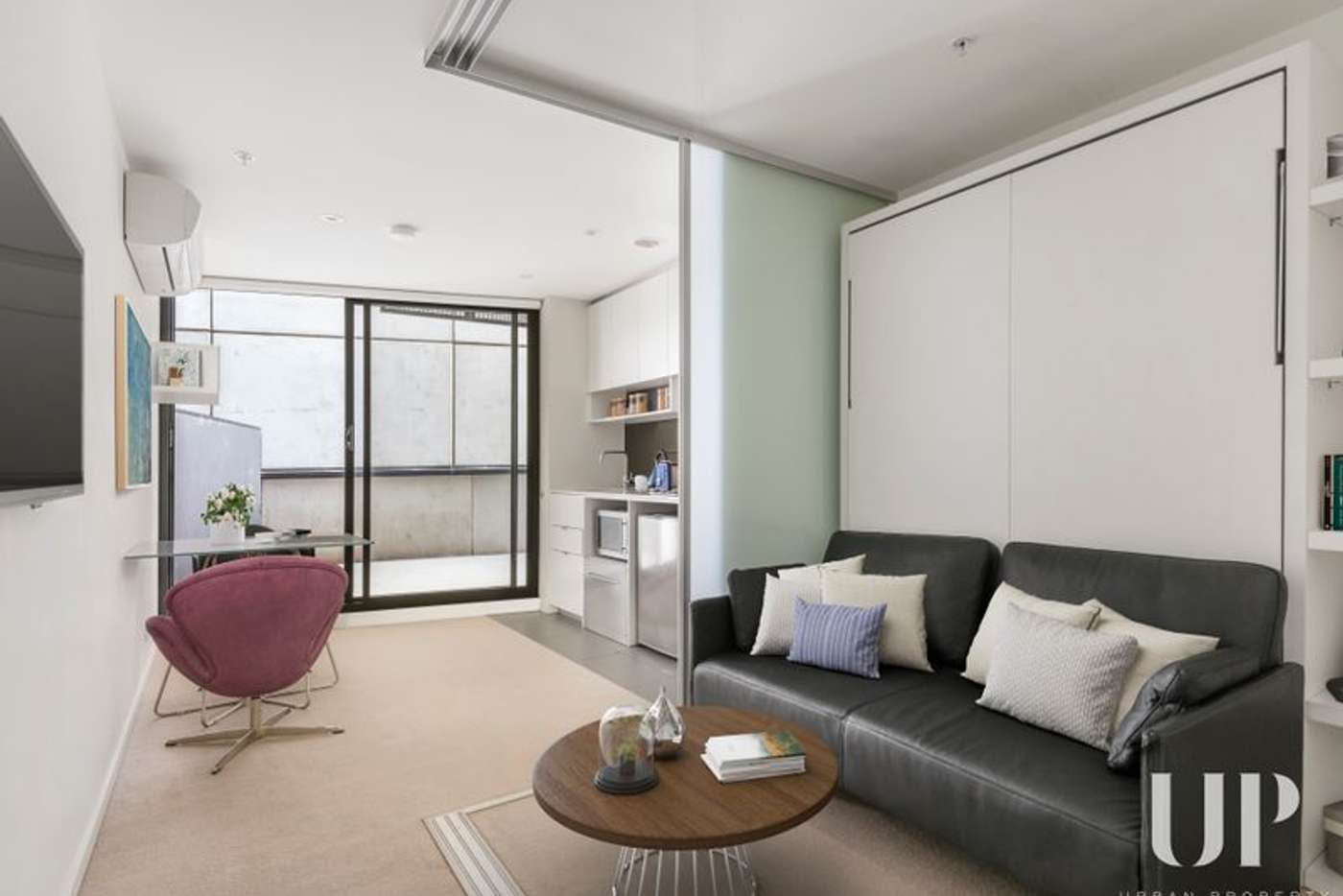 Main view of Homely apartment listing, 1602/243 Franklin Street, Melbourne VIC 3000