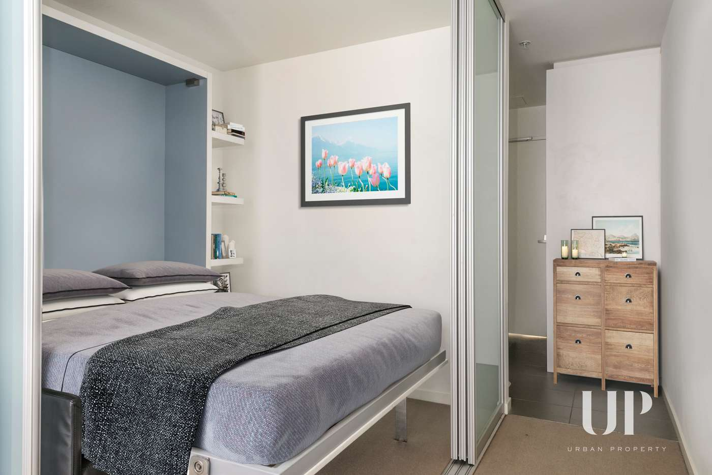 Main view of Homely apartment listing, 302/243 Franklin Street, Melbourne VIC 3000