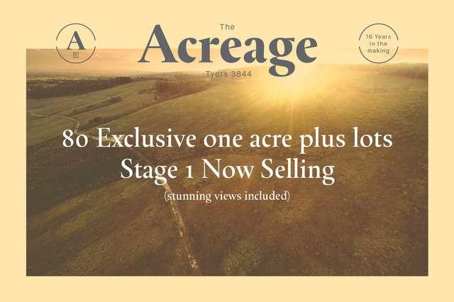THE ACREAGE, Tyers VIC 3844