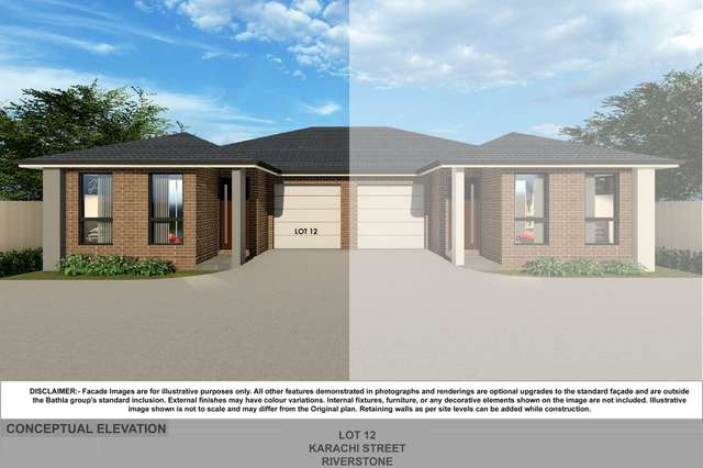 Lot 12 Karachi Street, Riverstone NSW 2765