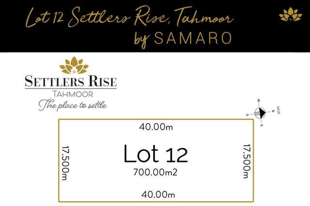 LOT 12 Settlers Rise, Tahmoor NSW 2573