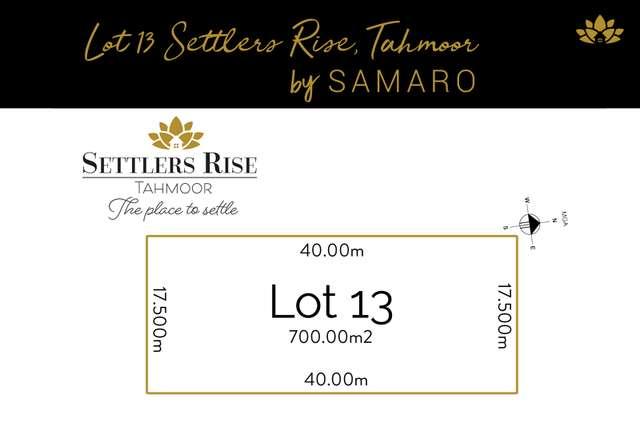 LOT 13 Settlers Rise, Tahmoor NSW 2573