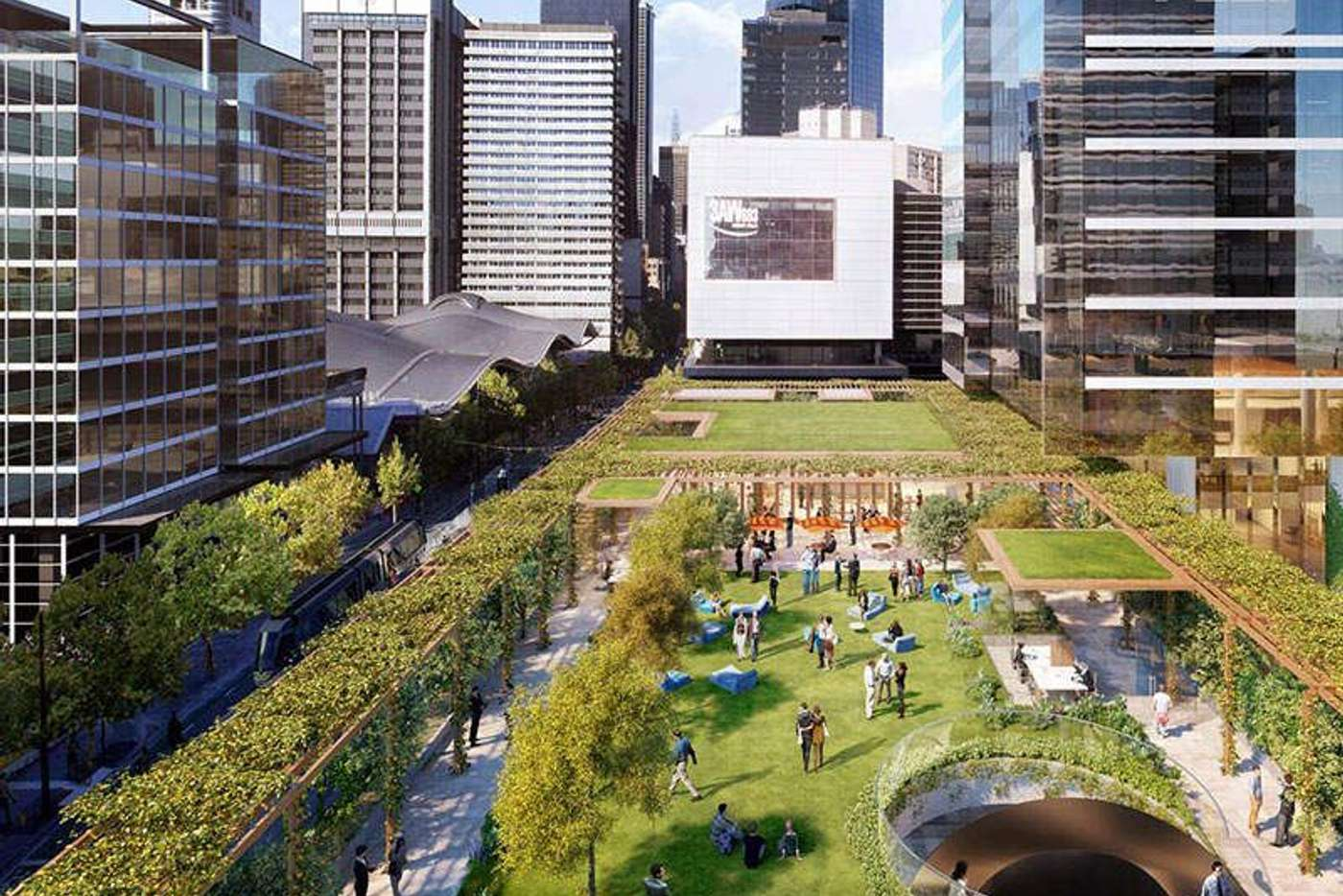 Main view of Homely apartment listing, Melbourne Quarter at Flinders Street, Docklands VIC 3008
