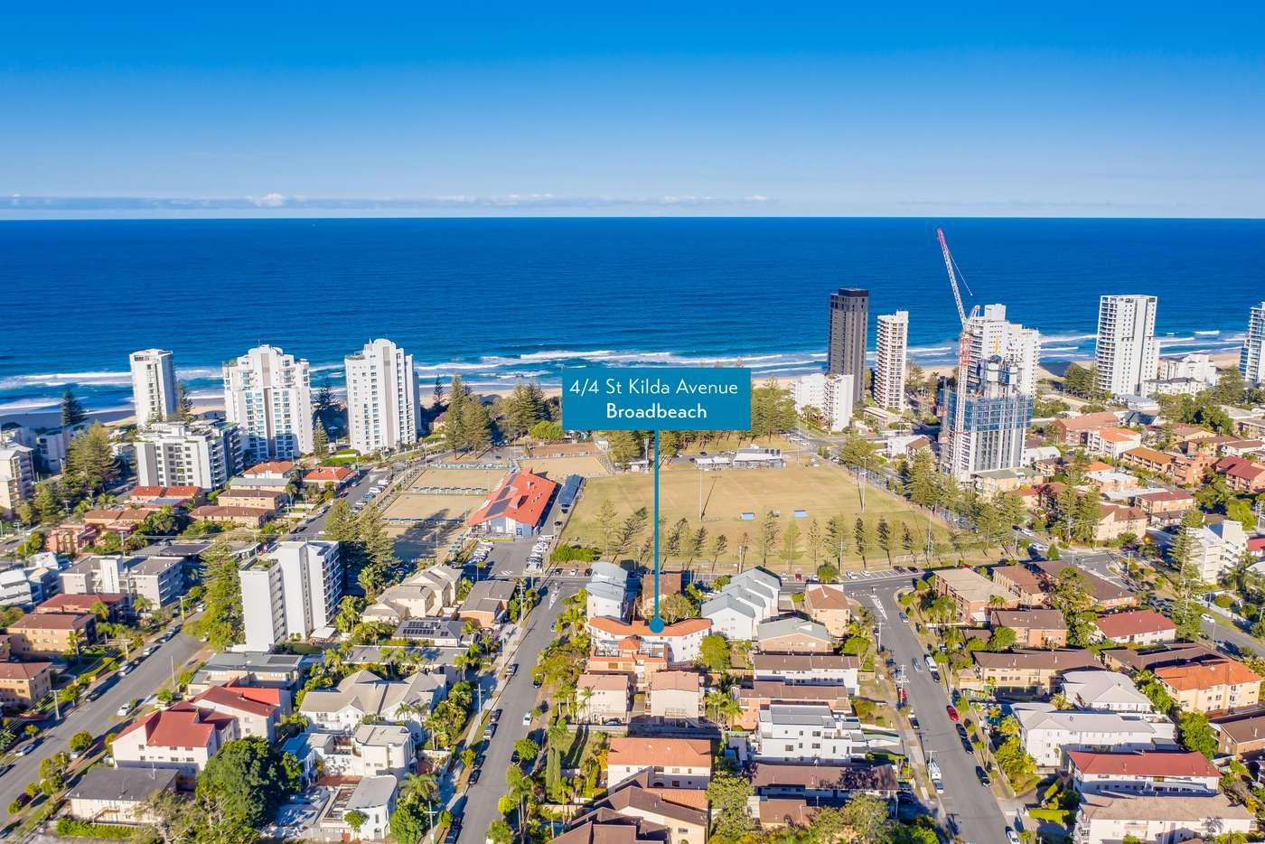 Main view of Homely unit listing, 4/4 ST Kilda Avenue, Broadbeach QLD 4218