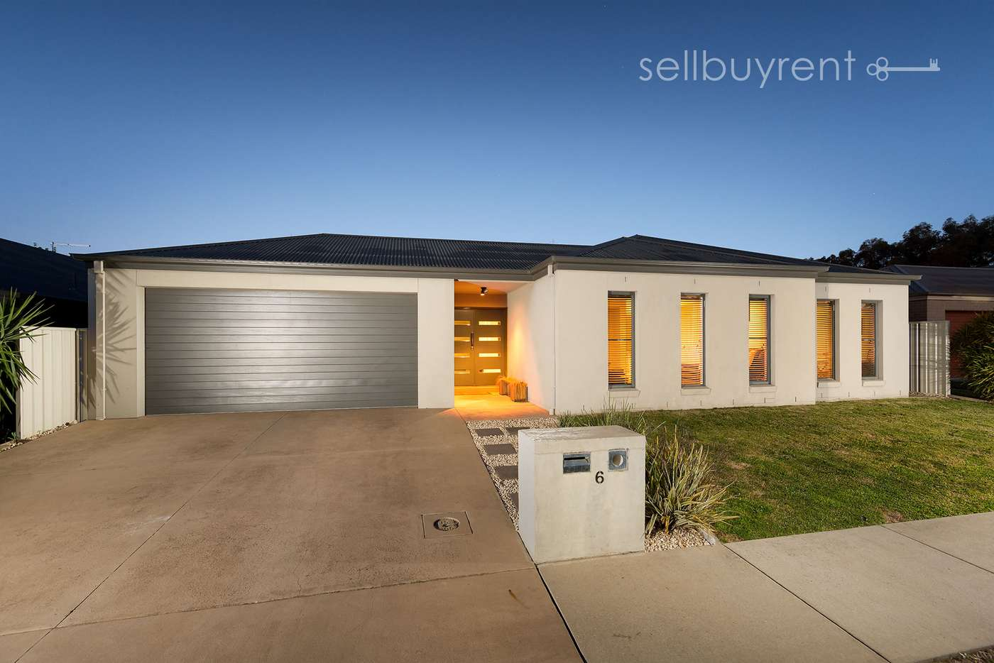 Main view of Homely house listing, 6 CONDAMINE STREET, Wodonga VIC 3690