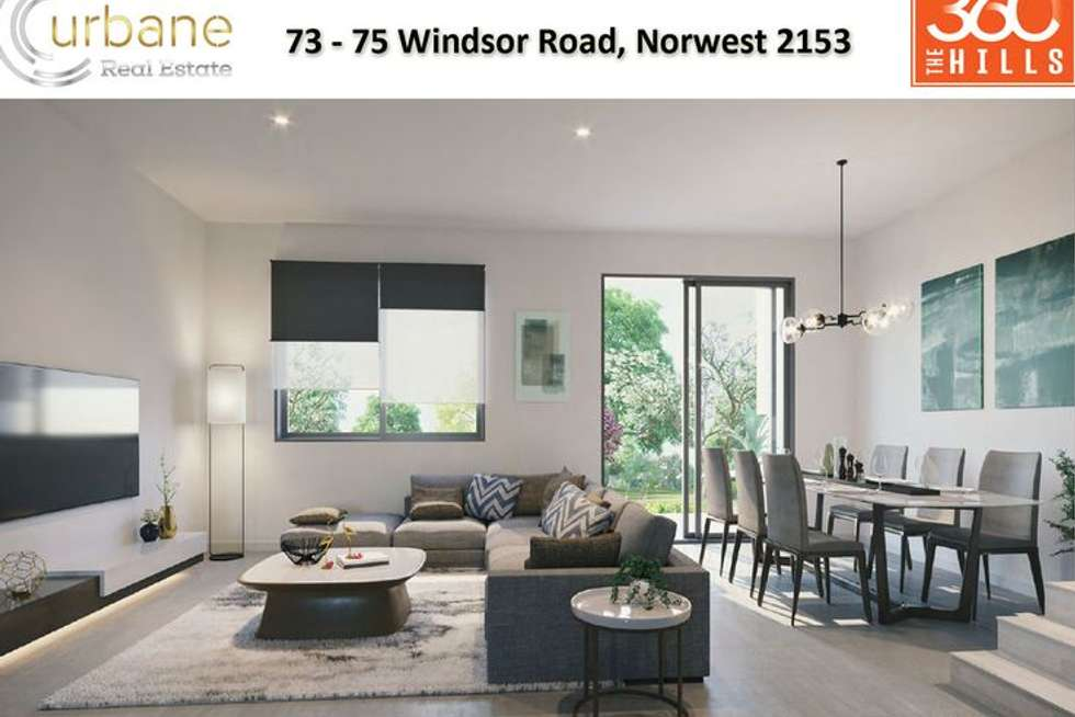 Second view of Homely house listing, 75 Windsor Road Norwest, Baulkham Hills NSW 2153