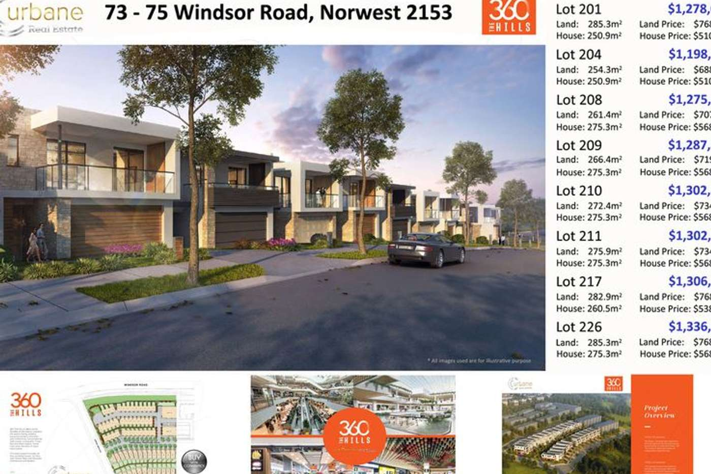 Sixth view of Homely house listing, 75 Windsor Road Norwest, Baulkham Hills NSW 2153