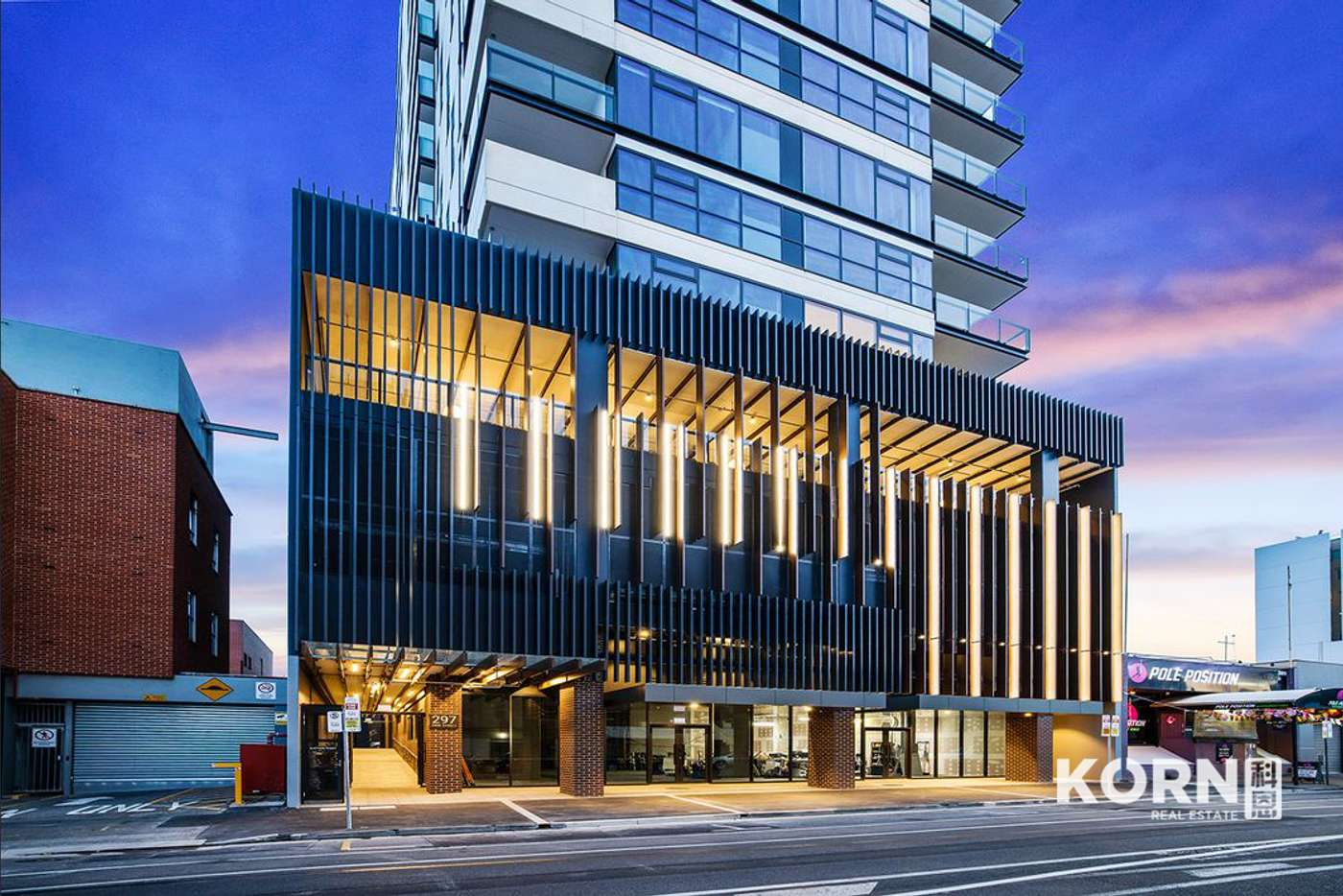 Main view of Homely apartment listing, 1405/297 Pirie Street, Adelaide SA 5000