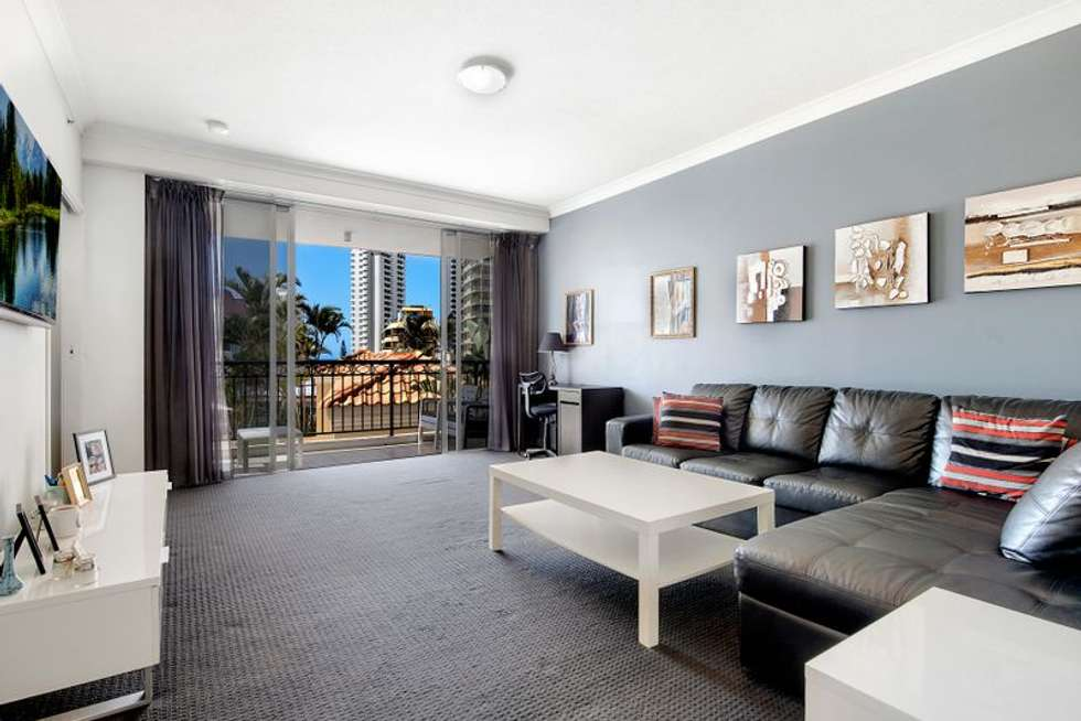 Second view of Homely apartment listing, 1035/23 Ferny Avenue, Surfers Paradise QLD 4217