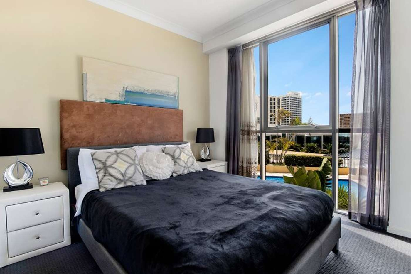 Sixth view of Homely apartment listing, 1035/23 Ferny Avenue, Surfers Paradise QLD 4217