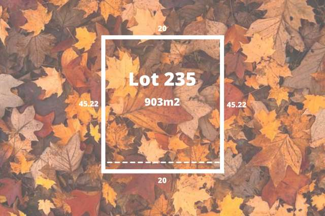 Lot 235 Autumn Views Estate, Romsey VIC 3434
