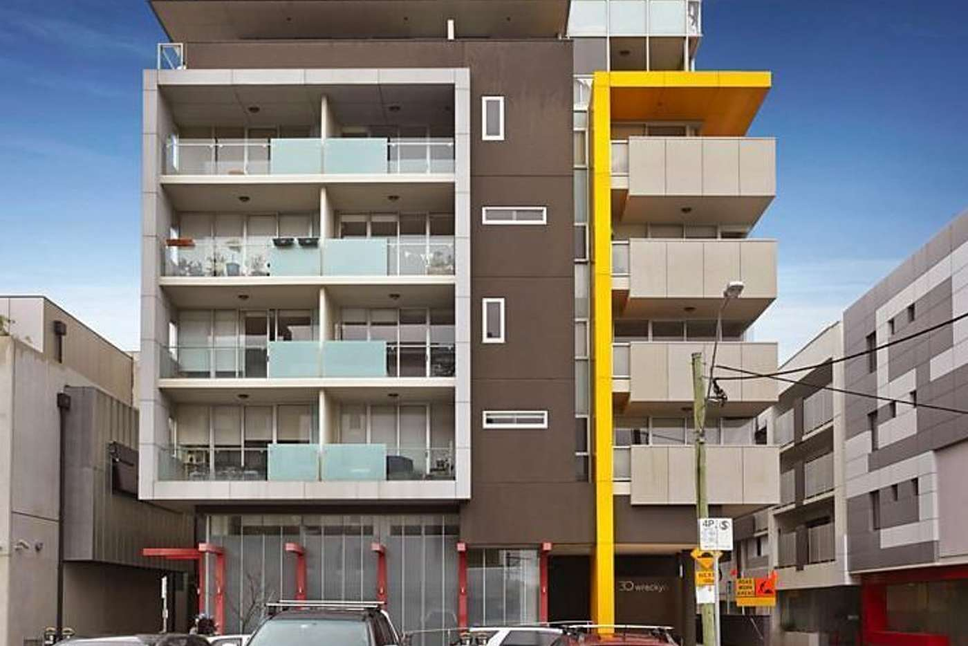 Main view of Homely apartment listing, 203/30 Wreckyn Street, North Melbourne VIC 3051