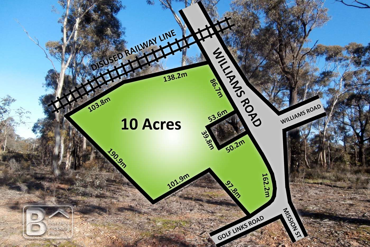 Main view of Homely residentialLand listing, LOT 4/17 Williams Road, Maiden Gully VIC 3551