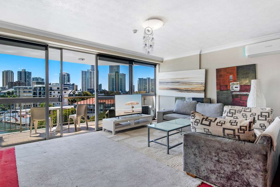 Second view of Homely apartment listing, 503/21 Peninsular Drive, Surfers Paradise QLD 4217