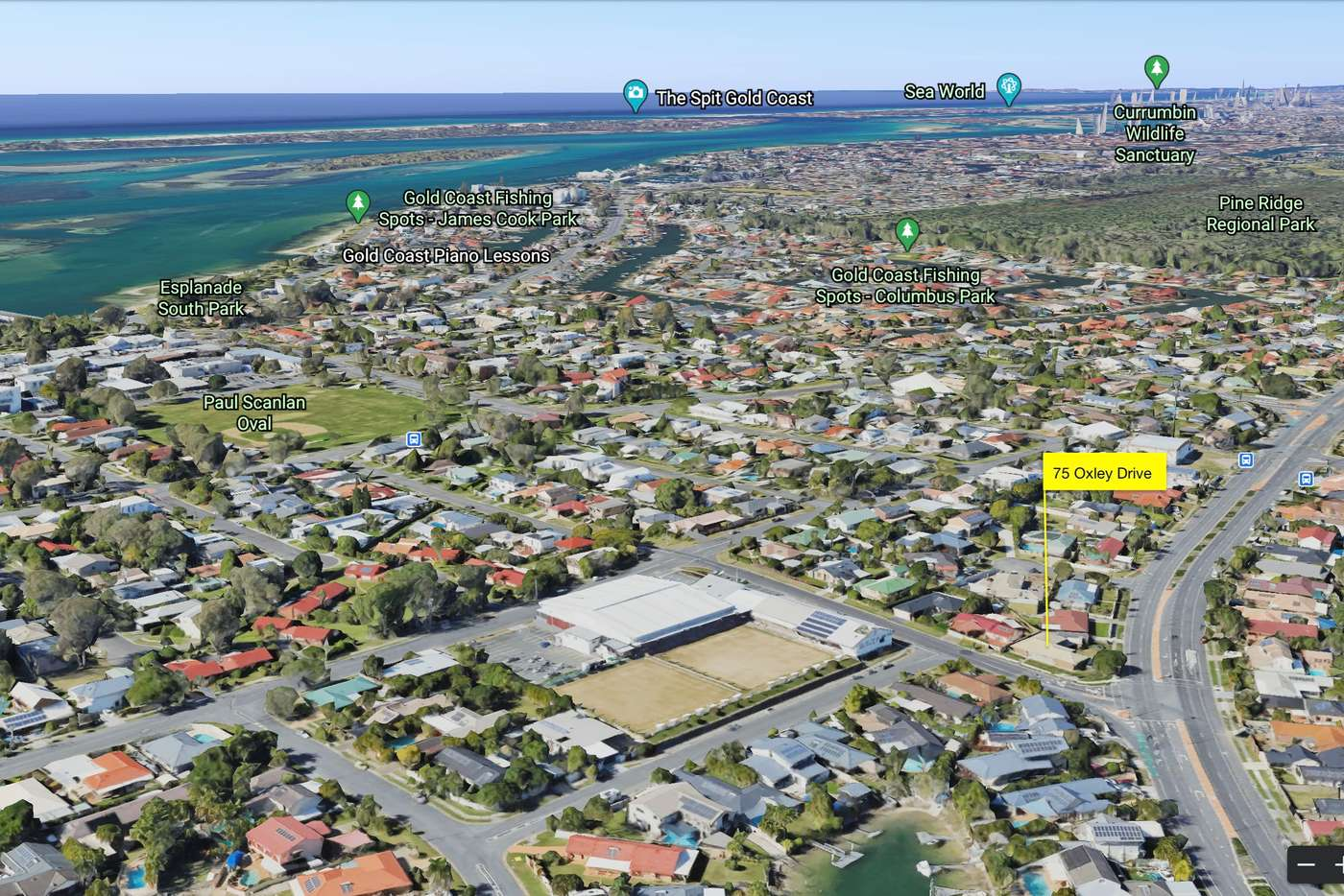 Sixth view of Homely house listing, 75 Oxley Drive, Paradise Point QLD 4216