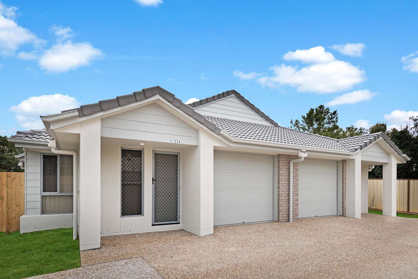 Main view of Homely semiDetached listing, 1/22A Macaranga Street, Marsden QLD 4132
