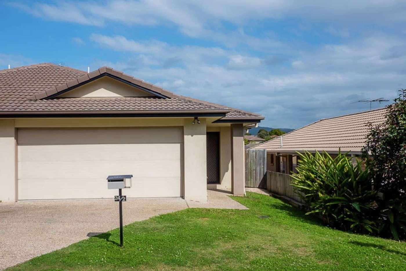 Main view of Homely semiDetached listing, 2/24 Armani Avenue, Pimpama QLD 4209
