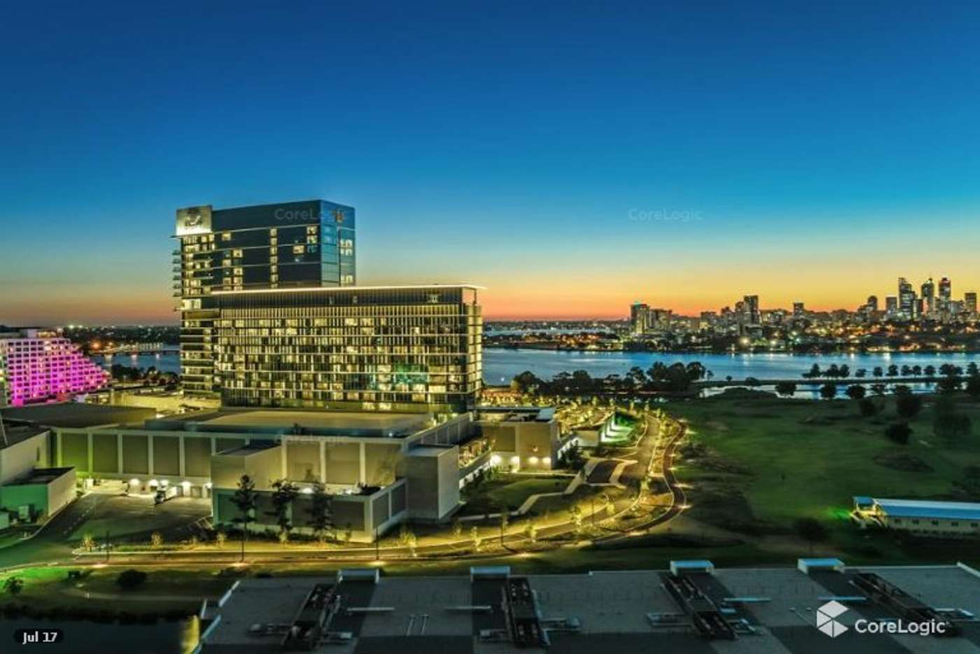 Main view of Homely apartment listing, 1101/30 The Circus, Burswood WA 6100