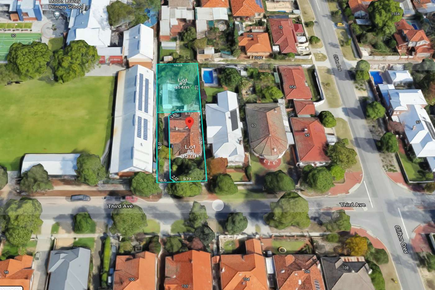 Main view of Homely residentialLand listing, Prop Lot/89A THIRD AVENUE, Mount Lawley WA 6050