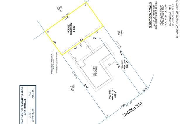 LOT 2/27 Swincer Way, Koondoola WA 6064