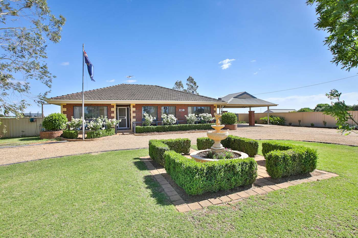Main view of Homely house listing, 210 Fifth Street, Merbein VIC 3505