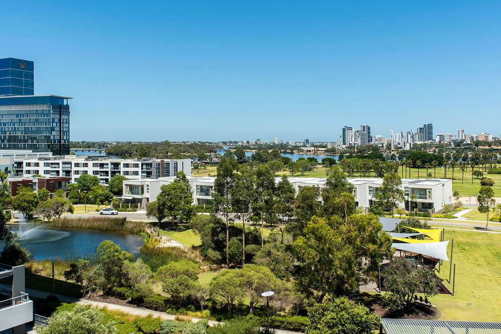 Second view of Homely apartment listing, 608/96 Bow River, Burswood WA 6100