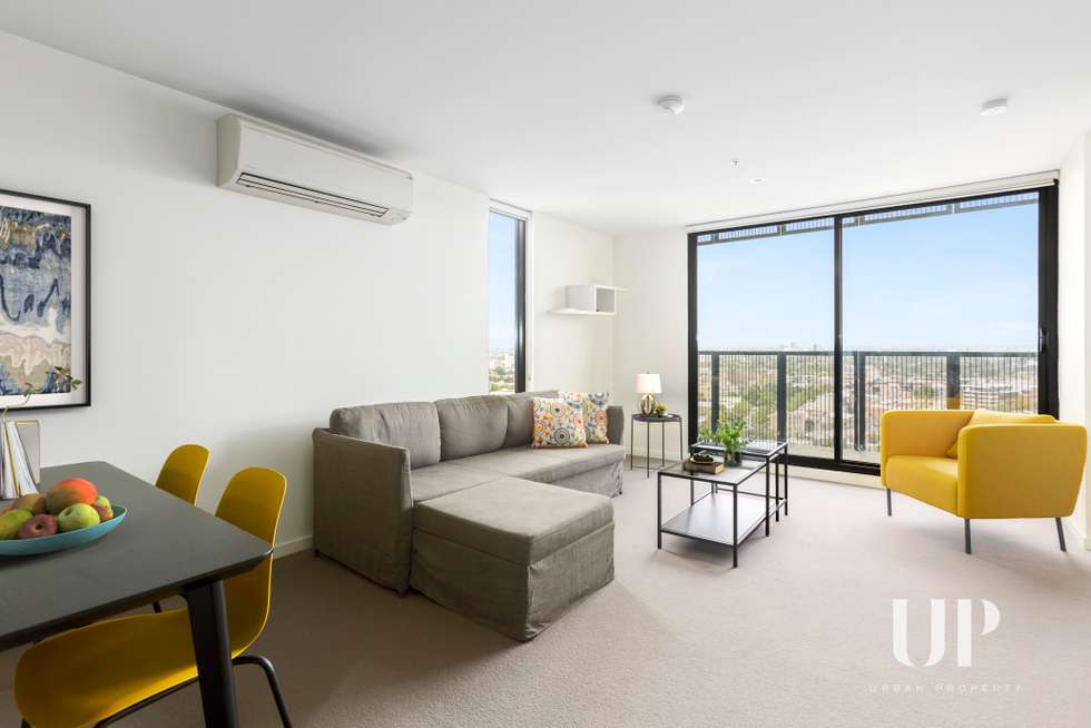 Second view of Homely apartment listing, 1701/243 Franklin Street, Melbourne VIC 3000