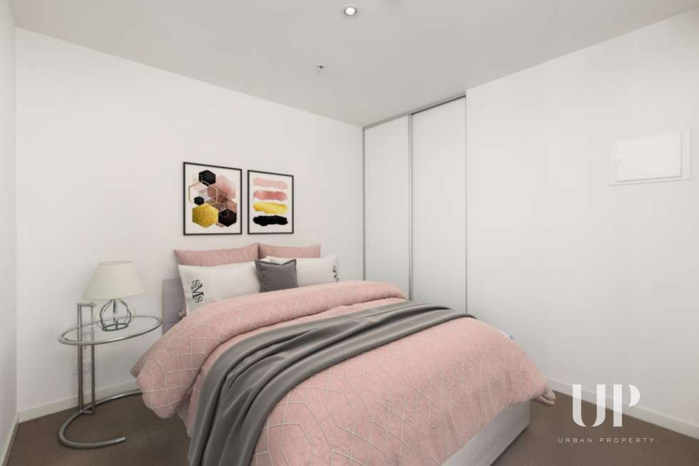 Third view of Homely apartment listing, 1701/243 Franklin Street, Melbourne VIC 3000