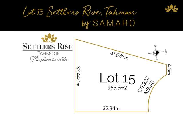 Lot 15 Totterdell Place, Tahmoor NSW 2573