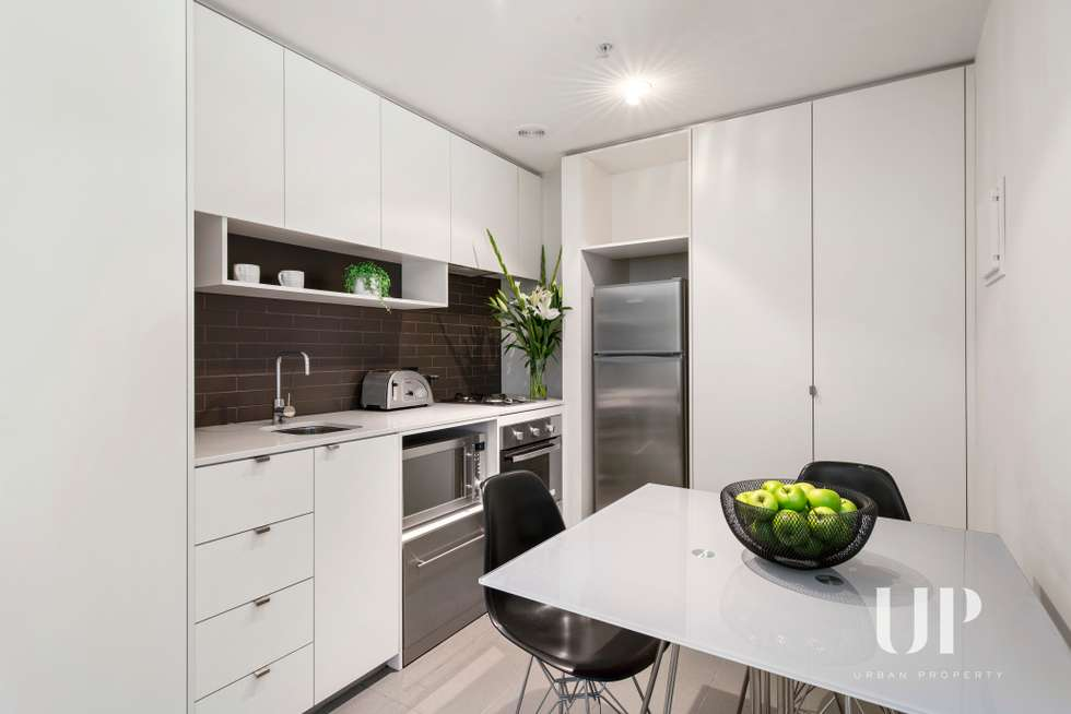 Third view of Homely apartment listing, 104/243 Franklin Street, Melbourne VIC 3000