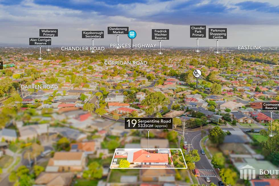 Second view of Homely house listing, 19 Serpentine Road, Keysborough VIC 3173