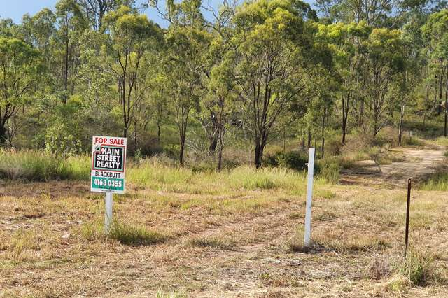 LOT 84 STRETTON DRIVE, Blackbutt QLD 4314