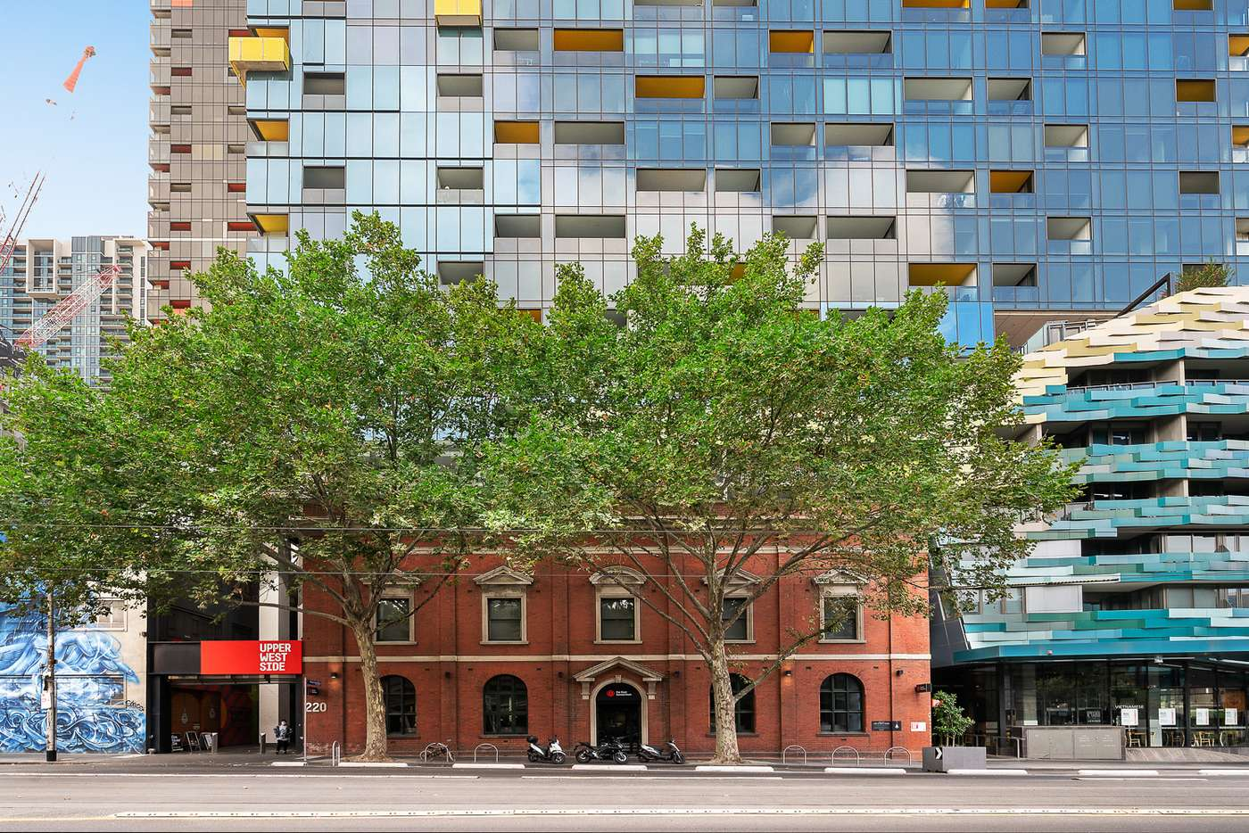 Main view of Homely studio listing, 2307/220 Spencer Street, Melbourne VIC 3000