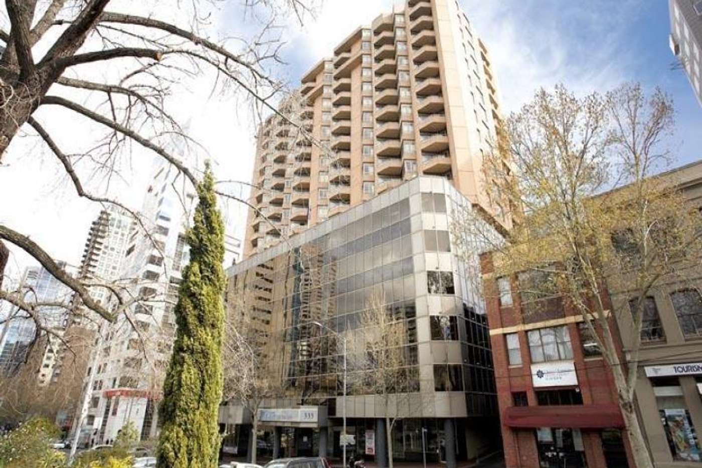 Main view of Homely apartment listing, 1602/333 Exhibition Street, Melbourne VIC 3000