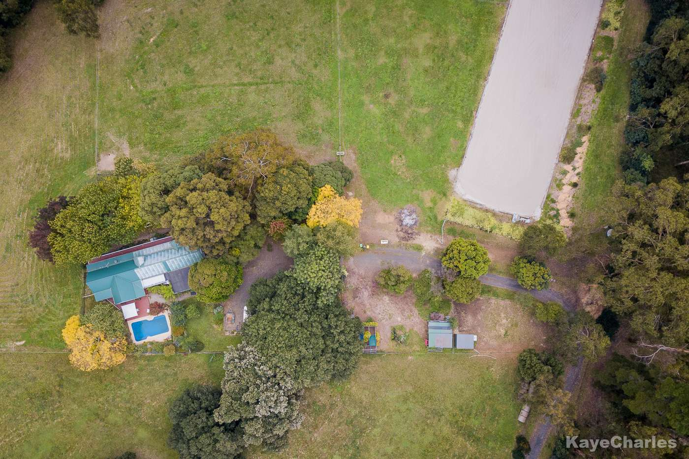 Main view of Homely acreageSemiRural listing, 1 Edzell Road, Clematis VIC 3782